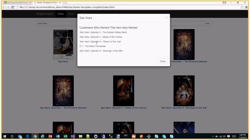 How to add Item Recommendations using Azure Search and Machine Learning