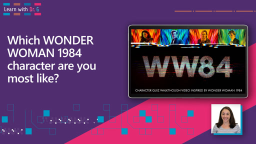 Which WONDER WOMAN 1984 character are you most like?