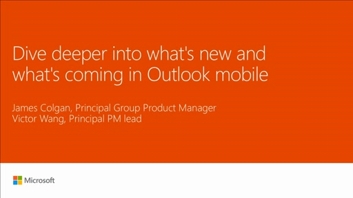 Dive deeper into what's new and what's coming in Outlook mobile