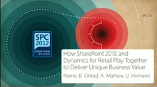 How SharePoint 2013 and Dynamics for Retail Play Together to Deliver Unique Business Value