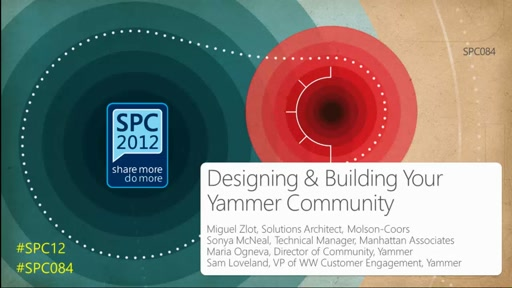 Designing and Building Your Yammer Community