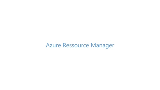 Build 2014 - Azure Ressource Manager