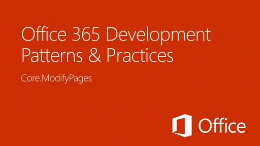 Provisioning SharePoint Wiki Pages in Apps for SharePoint - Office 365 Developer Patterns and Practices