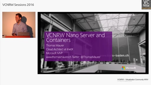 Nano Server and Containers