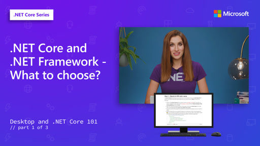 .NET Core and .NET Framework - what to choose? [1 of 3]