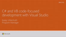 Dig into C# and Visual Basic code-focused development with Visual Studio