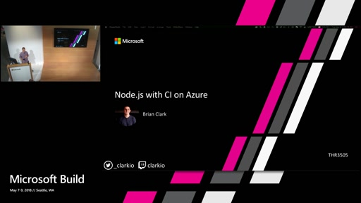 Node.js with CI on Azure