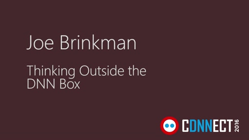 Thinking Outside the DNN Box