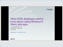 What HTML developers need to know about coding Windows 8 Metro style apps
