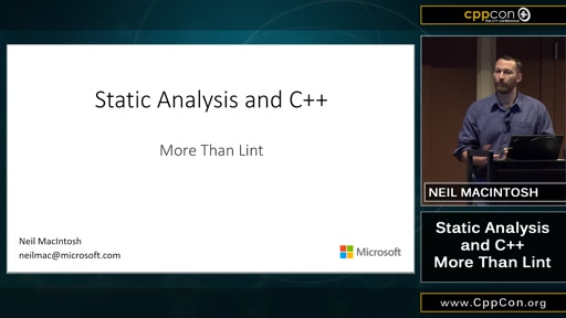 Static Analysis and C++: More Than Lint