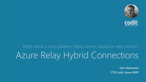 Azure Relay hybrid connections
