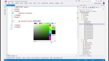 Visual Studio 2013 Web Editor Features - HTML Editor