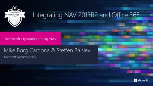 Integrating NAV 2013R2 and Office 365