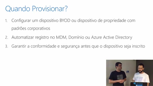 Academia Windows - Provisionamento