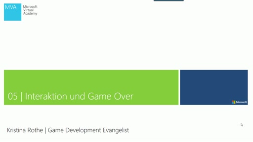 05 | Interaktion und Game Over