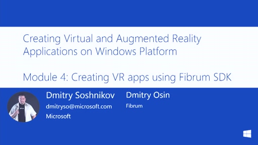 4 | Creating VR apps using Fibrum SDK