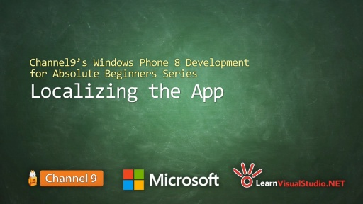Part 7: Localizing the App