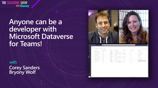 Anyone can be a developer with Microsoft Dataverse for Teams!