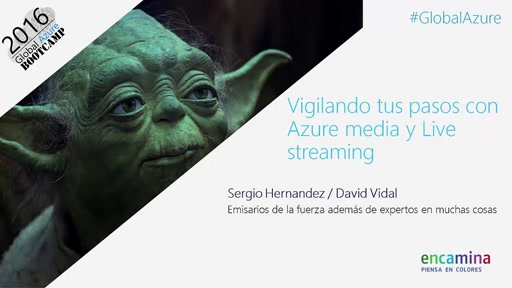 Vigilando tus pasos con Azure media y Live streaming