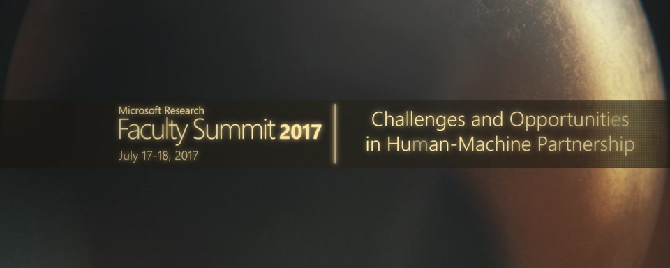 Video Abstract: Challenges and Opportunities in Human-Machine Partnership