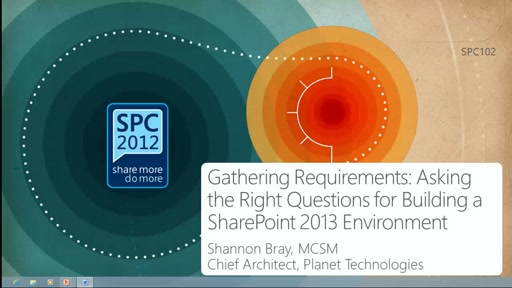 Gathering Requirements: Asking the Right Questions for Building a SharePoint 2013 Environment