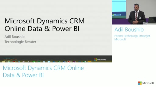 Microsoft Dynamics CRM Online Data & Power BI