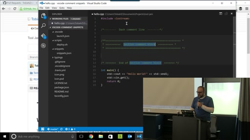 Final Presentation: VSCode Comment Snippets