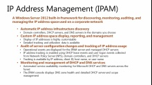 Windows Server 2012: IP Address Management