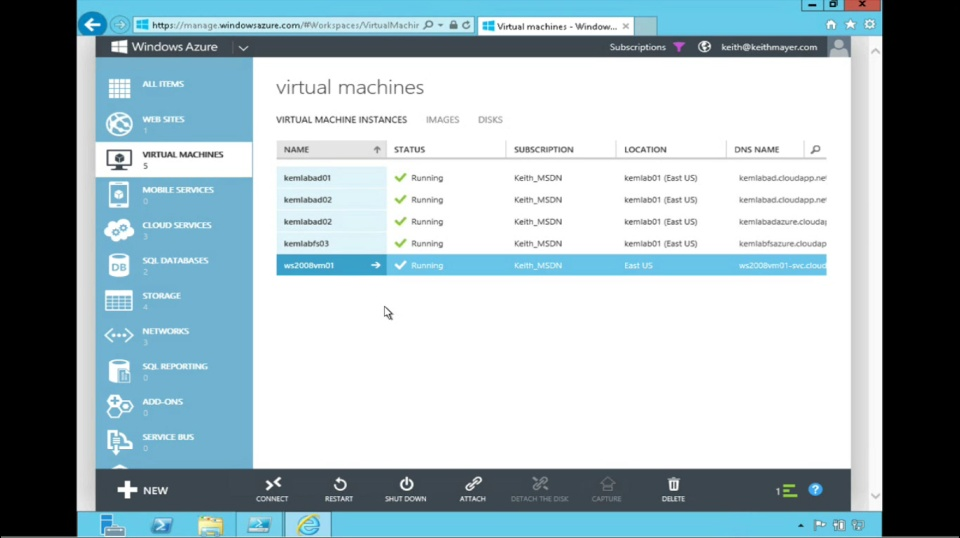 TechNet Radio: How to Migrate Your Virtual Machines from Amazon Web Services to Windows Azure