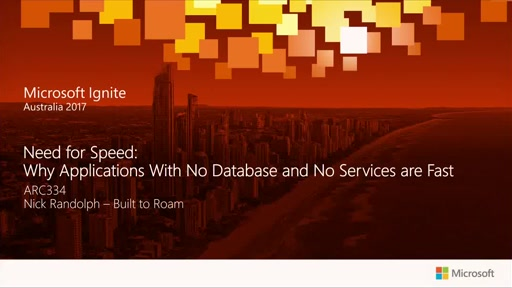 Need for Speed: Why Applications With No Database and No Services are Fast