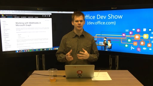 Office Dev Show - Episode 37 - Building Webhooks with the Microsoft Graph