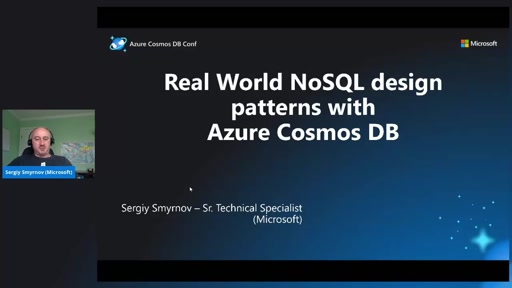 Real World NoSQL design patterns with Azure Cosmos DB