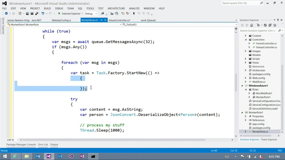 Azure Queues 103 - Batch Processing with Mark Simms
