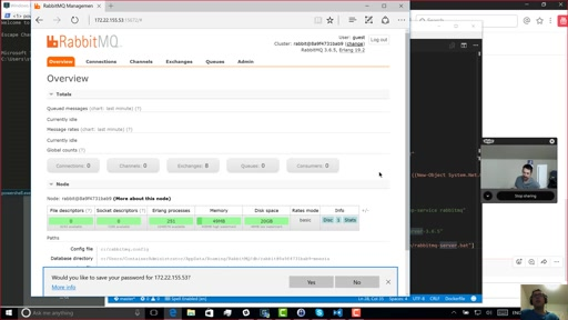 ASP.NET Monsters Episode 95: Creating a RabbitMQ Windows Container