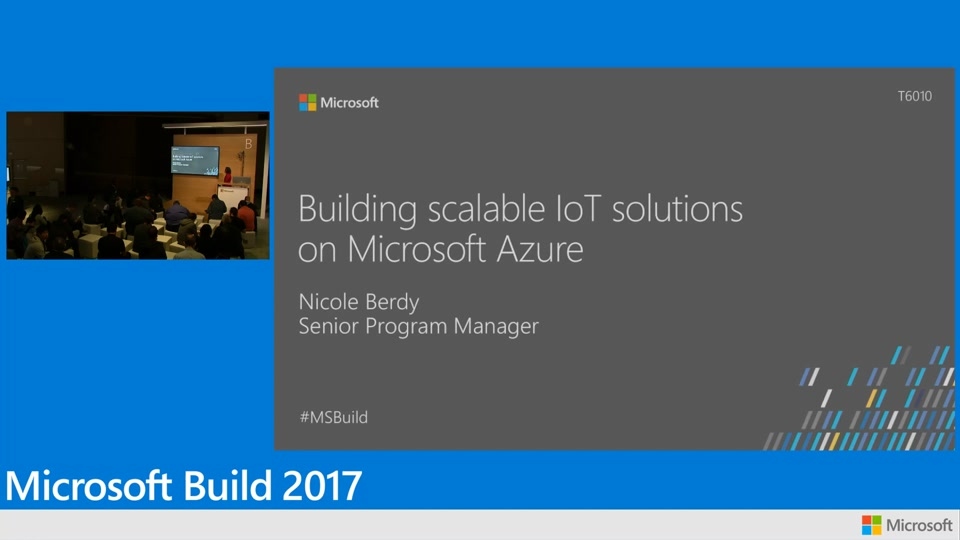 Building scalable IoT solutions on Microsoft Azure