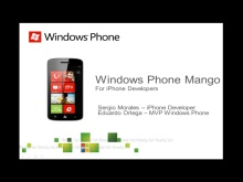 Windows Phone para desarrolladores de iPhone