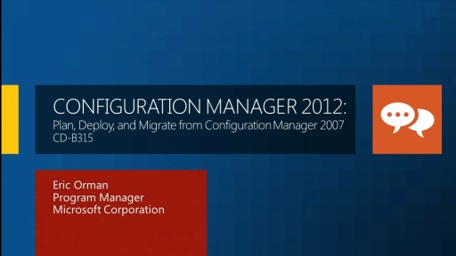 Configuration Manager 2012: Plan, Deploy, and Migrate from Configuration Manager 2007