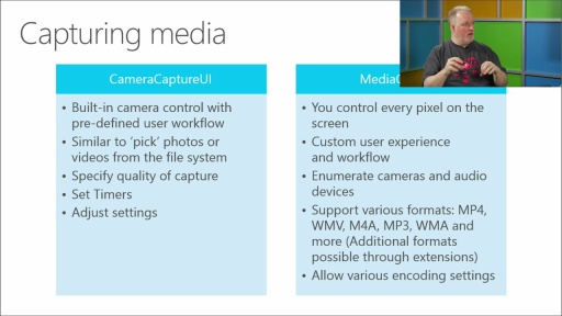 Windows 8.1 Developer Training, Geek Edition : (04) Speech, Camera, and Microphone