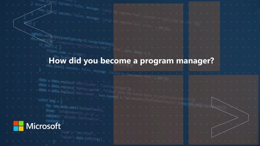 How did you become a program manager? | One Dev Question