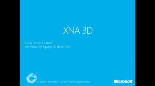 Kinect Challenge.XNA 3D. Content Writter