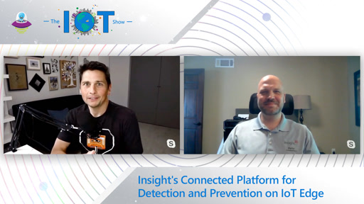 Insight's Connected Platform for Detection and Prevention on IoT Edge