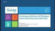 Continuous Delivery of Windows Azure Cloud Apps