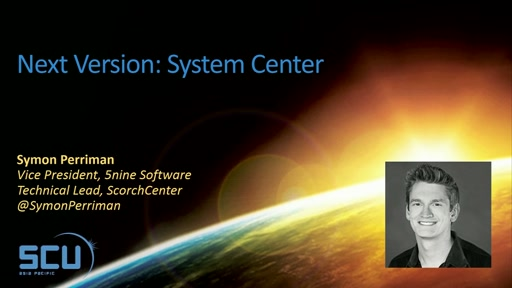 Next Version: System Center