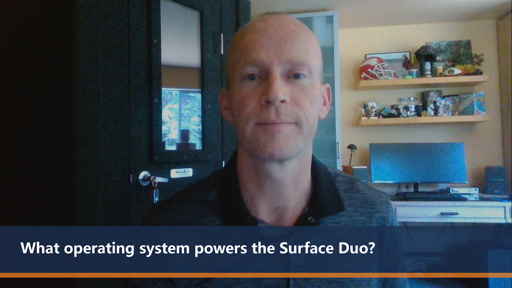 What operating system powers the Surface Duo? | One Dev Question
