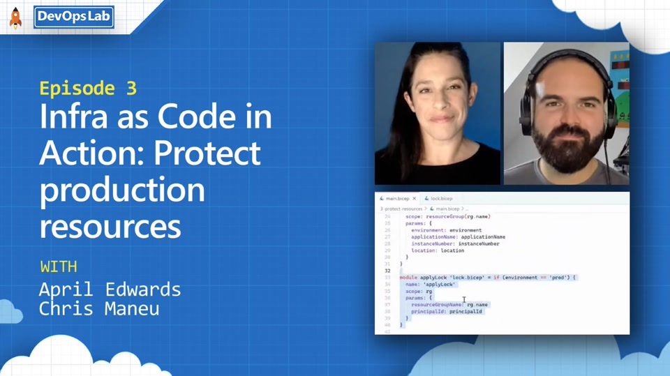 DevOps Lab | Infra as Code in Action: Protect production resources | Ep 3 of 4-episode series