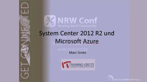 Microsoft Azure und System Center 2012 R2 Integration