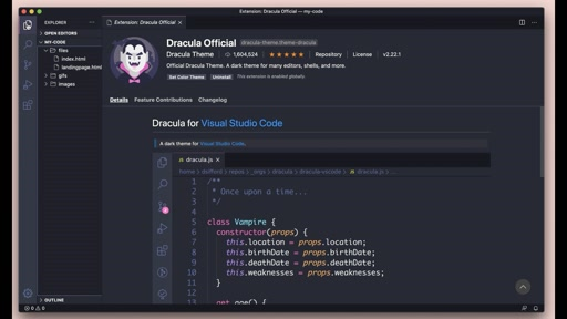 Personalize VS Code with Themes