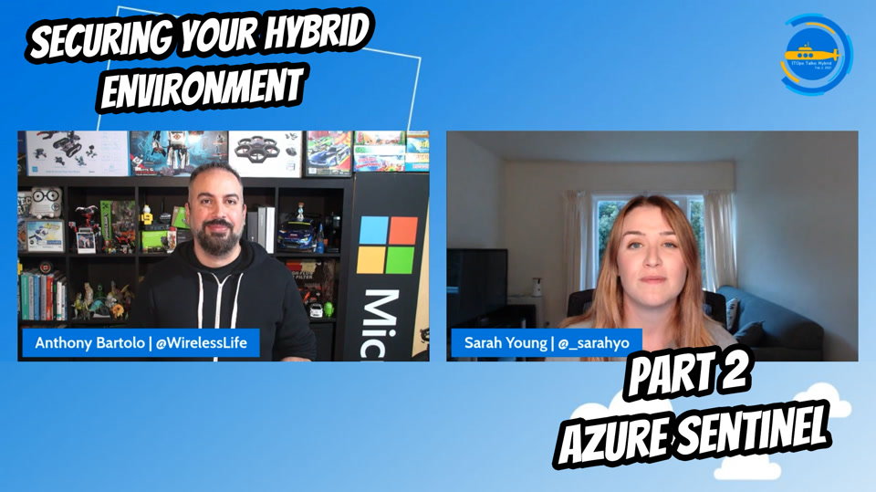 OPS103 - Securing your Hybrid environment – Part 2 - Azure Sentinel