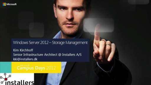 Windows Server 2012 – Storage Management