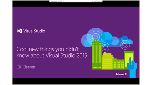 Cool things you didn't know about Visual Studio 2015